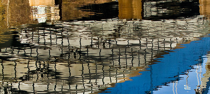 03 Abstract River Reflection